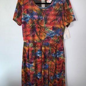 Lularoe Amelia Dress - XL